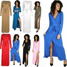 Plus Size Long Sleeve Party Maxi Dresses for Women