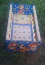 Vintage The Gong Bell MFG CO. Toy crib doll bed