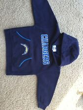 San Diego Chargers Kids Nfl Team Apparel Hooded Sweatshirt 2t