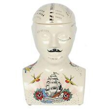 Brand New SMALL OR LARGE Phrenology Head storage jars