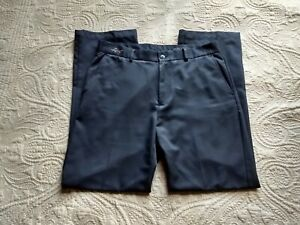 Greg Norman Classic Black Golf Pants Size W32 L30
