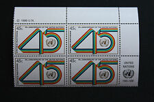 NATIONS-UNIS (new-york) timbre / stamp Yvert et Tellier n°575 x4 n** (Cyn13)