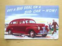 1941 FORD Four 4 Door Post Card PostCard