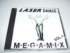 Laser Dance Volume 1 MEGAMIX *  RARE Italo Disco Classics CD 1988 *
