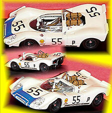 PORSCHE 908/2 BRANDS HATCH 1969 ELFORD Attwood #55 1:43 Best Model