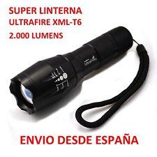 Super Linterna Ultrafire CREE XML-T6  2000 Lumens