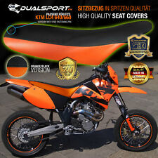 KTM LC4 640 / 660 SMC / X Sitzbezug, Seat Cover for KTM LC4 by DualSport FX