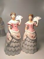 Homco 1421 Shall We Dance Southern Belle Lady Figurine cute girls room decor