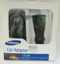 Samsung 15W USB Quick Fast Charger + Micro USB Fast Charge NEW 1Port Black