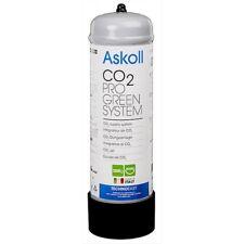 Askoll bombola Anidride Carbonica 1200 gr Co2 per acquari Non Ricaricabile