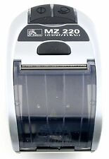 New Zebra MZ220 M2E-0UB0E060-00 Portable Bluetooth Wireless Printer
