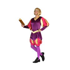 RE MEDIEVALE  XS-S ADULTO COSTUME CARNEVALE ATOSA 18316