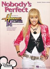 Nobody's Perfect - Hannas Montana - Miley Cyrus - 2007 Sheet Music