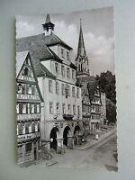 Ansichtskarte Calw im Nagoldtal Schwarzwald Rathaus 1957