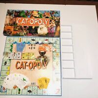 Cat-opoly Board Game by Late for the Sky Complete