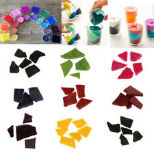 10g Irregular Dye Chips Colour Flakes For Soya Wax / Paraffin Wax Candle Making