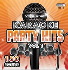 VOCAL-STAR PARTY HITS 1 KARAOKE CDG CD G DISC SET 150 SONGS FOR KARAOKE MACHINE