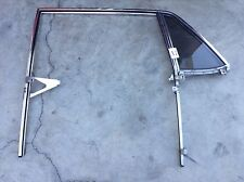 84 ROLLS-ROYCE SILVER SPUR LEFT REAR DOOR WINDOW TRACK FRAME