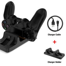 New Dual Charger Dock Station USB Charging Stand For PS4 PlayStation4 Controller