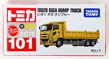 Takara Tomy Tomica 101 Isuzu Giga Dump Truck 859864