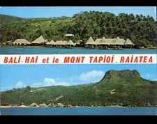 RAIATEA UTUROA / BALI-HAI (POLYNESIE) PAILLOTES & MONT TAPIOI
