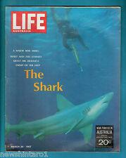#T104.  AUSTRALIAN LIFE MAGAZINE 20th March  1967, COCA COLA BACK  COVER