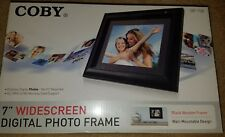 Coby DP-758 7-Inch Widescreen Digital Photo Frame Brand New