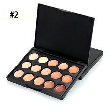 15 Colours Set Makeup Cream Contour Contouring Concealer Foundation Palette Kit