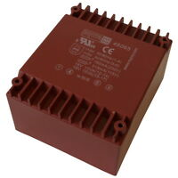 HAHN BVUI3040129 Trafo 10VA 2x115V 2x7,5V 2x667mA Flachtransformator 856371