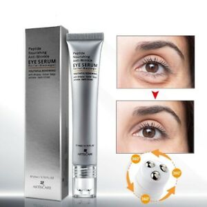 Peptide Anti Wrinkles Eye Serum Roller Massager Eye Patches Skin Care Puffiness