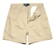 Mens Ralph Lauren Polo Chino Andrew Shorts  Brown  Size W33  Inseam  5.75in £115
