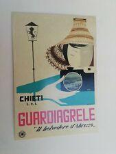 Cartolina Pubblicitaria Abruzzo Guardiagrele Enit Ente Turismo Propaganda
