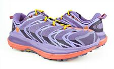 Hoka One One Speedgoat Corsican Blue Neon Coral Running Shoes Womens Size 7 NEW