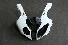 ABS Plastic Upper Fairing Nose Cowl for BMW S1000RR 2010 2011 2012 Unpainted