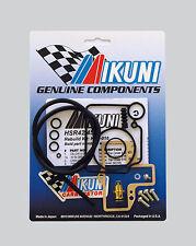 Genuine Mikuni KHS-016 HSR42 HSR45 Carburetor Rebuild Kit w/Free Tuning Manual