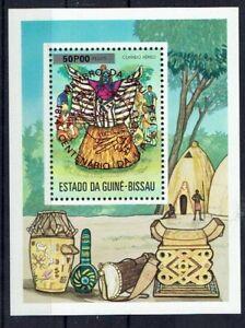 Africa Guinea Bissau Minr Block 11 Ba Postmarked