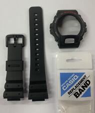 CASIO Original G-Shock Watch Band DW-6900 DW-6600+BEZEL + Battery+  Light Button