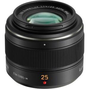 Panasonic 25mm f1.4 II Leica DG Summilux ASPH Micro Four Third- 2 YEARS WARRANTY