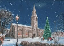 Leicester Cathedral at Christmas Christmas Cards