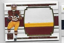 Samaje Perine 2017 Pantheon 3-COLOR Player-Worn Patch 22/49 Out-of-Pack Redskins