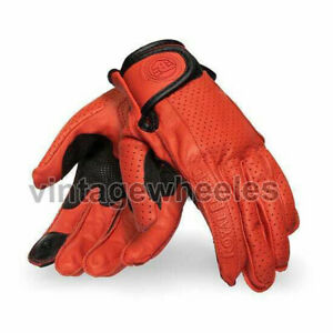 Royal Enfield Summer Riding Women's Gloves - Red