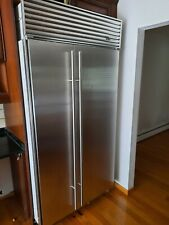 "42"" Stainless Steel Refrigerator Freezer by Sub-Zero. Looks great and runs great"