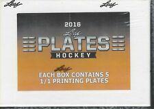 DETROIT RED WINGS 2016/17 LEAF NHL PLATES 1 BOX BREAK 5 X PLATES # TO 1/1 SP'S