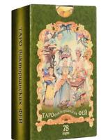 Victorian Fairy Tarot 78 cards in Russian Таро Викторианских Фей