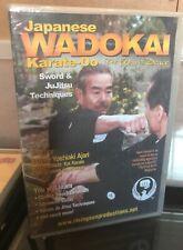 Japanese Wadokai Karate Do Sword Jiu Jitsu Techniques Katas Dvd Ajari Rs58 wado