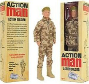 "ACTION MAN 12"" SOLDIER FIGURE (DISCONTINUED) BRAND NEW & SEALED ~ GREAT GIFT!!!!"