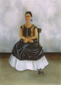 Frida Kahlo 17 Itzcuintli Dog with Me, 1938 Movie Poster Canvas Picture Art