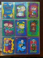 1997 Tempo Nickelodeon - Rugrats Collector Cards - Complete Set of 100 Cards!