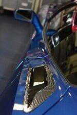 Corvette C7 Stingray Rear Quarter Vent Cover Plates Real Carbon Fiber 2Pc Set