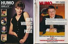 HUMO 2663 (19/9/91) CLOUSEAU PRINCE DIRE STRAITS GUNS N ROSES PITTI POLAK LENNON